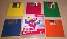Imation Rainbow Blank Floppy Discs  Diskettes  IBM  2HD  1.44MB  x 8