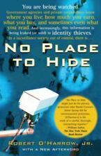 No Place to Hide, O'Harrow Jr., Robert, 0743287053, Book, Acceptable