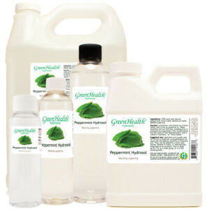 Peppermint Floral Water (Hydrosol) Free Shipping Many Sizes