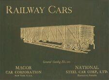 RAILWAY CARS: Steel Frt Cars 1921 Doub Catalog Eng&Spanish No.100 Magor & NS Co