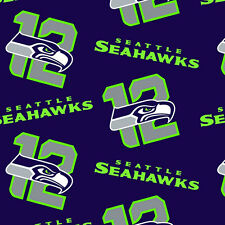 NFL Fleece Seattle Seahawks The 12s by the yard