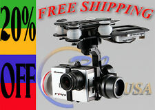 Quanum Q-3D Brushless 3-Axis Camera Gimbal for GoPro 3 Quanum FPV RCTimer USA