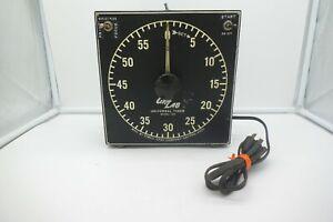 Vintage GraLab DIMCO Model 168 Darkroom Timer Clock Made USA Tested