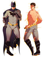 Batman Dakimakura Pillow Case Cover Hugging Body cosplay 84052