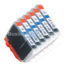 6 CYAN CLI-8 CLI-8C Compatible Ink Cartridge for Canon Printer CLI-8 CLI8 CLI-8C