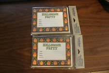 Lot Of 20 Halloween Party Invitations Brand New - Creative Papers