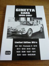 GINETTA CARS, 1958 TO 2007. BROOLANDS LIMITED EDITION ULTRA CAR BOOK