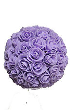 9 Inches Lavender Rose Ball Pomander Kissing ball (Usa Seller Fast Shipping)
