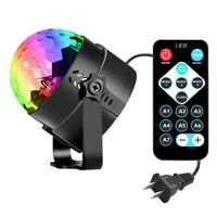 Mini RGB Car Magic Ball LED Music Projector Lamp USB Disco Stage Show Lighting