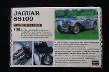 XO029 HASEGAWA 1/32 1:32 maquette voitureTO-03 Jaguar SS100 TO03 super detail