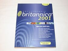 Encyclopedia Britannica 2001 Deluxe Edition CD for Windows Version Sealed