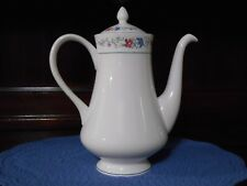 Wedgwood Coffee Pot Bone China Made in England Lausanne R4543