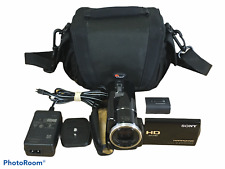Sony HDR-XR160 High Definition Handycam Camcorder 12x Optical Zoom w/ Case