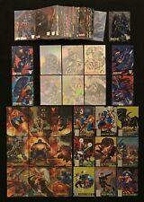 1996 AMALGAM MARVEL DC HOLOPIX CANVAS POWER BLAST INSERT CARD SINGLES YOU CHOOSE