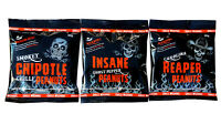 Chilli Peanuts - Hot as Hell Seasoned Peanuts Collection 3 Pack - Chilli Wizards