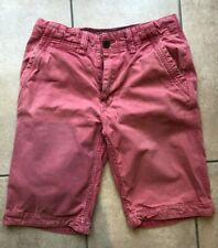 FATFACE pink red long shorts - size 30