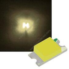 50x Led CMS SMD 1206 Blanc Chaud à souder PLCC-2 - warm white haute luminosité