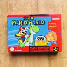 Super Mario World GIG Super Nintendo 64 Nes Pal Eur New Snes Bros /  Zelda