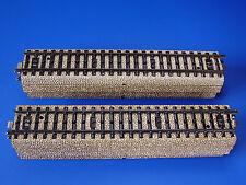 MARKLIN H0 - 5106 - 10x  STRAIGHT RAILS - M Track - Excellent / EXC