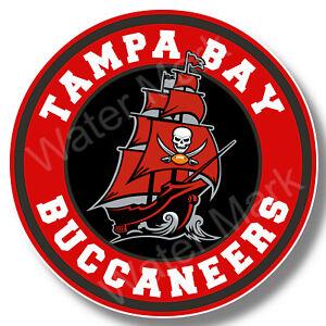 Tampa Bay Buccaneers Vinyl Sticker Decal Ship, Car, Truck Windows NFL Football