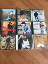 Country Music Tracy Lawrence Neil Mccoy Wade Hayes Brad Paisley Lot Of 9 Cd's