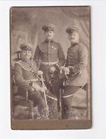 CAB Foto Soldaten mit Orden - Hamburg Altona 1900er