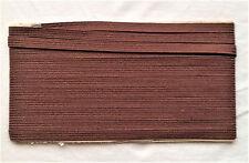 Brown japonais tsuka ito katana wakizashi reliure enveloppe tsuka iaido - 5 mètres