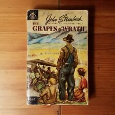 The Grapes of Wrath by John Steinbeck Compass Books Vintage Paperback 1967 Print