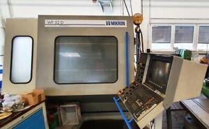 Mikron WF 52 D m. Heidenhain TNC 415 & 24-Fach Wechsler