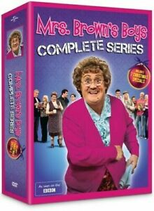 Mrs. Browns Boys: Complete Series (DVD, 2015, 8-Disc Set) Free Shipping