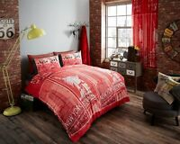Duvet Cover with Pillow Case Quilt Cover Bedding Set Size Double (  NEW )
