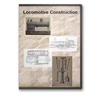 Locomotive Construction 9 Historic Books Train Steam Boiler Encyclopedia CD D421