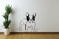 French Bulldog Wall Art Decal Home Decor Stickers Removable Stickers Vinyl