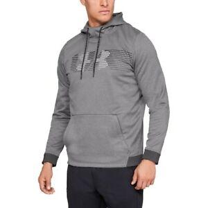 Under Armour Mens Fleece Spectrum Hoodie Sweatshirt GRAY (Size 3XL) NWT MSRP $55