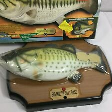Big Mouth Billy Bass Singing Sensation 1998 Gemmy Take Me To The River NEW