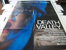 DEATH VALLEY -  POSTER ONE SHEET - 27 X 41 - 1982