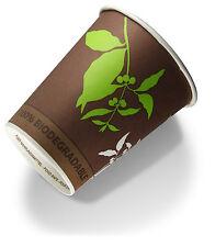Bio Kaffeebecher to go , 8oz, ca. 0,2l, Kaffeestrauch, 50 Stück