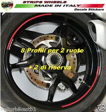 Adesivi per ruote Ducati Monster 821 1200 profili cerchi V325