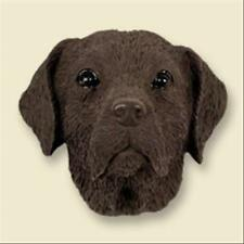 Mastiff Dog Head Painted Stone Resin MAGNET