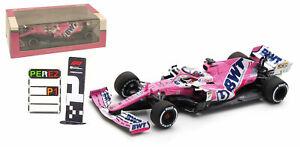 Spark S6485 Racing Point RP20 Winner Sakhir GP 2020 - Sergio Perez 1/43 Scale