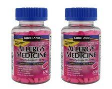 Kirkland Signature™ Allergy Medicine 25 mg 600 Minitabs x 2 + Free Shipping