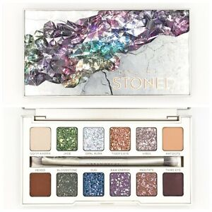 Authentic Urban Decay Stoned Vibes Eyeshadow Palette Cosmetics - 12 Vegan Shades