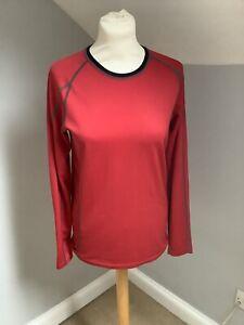 Ladies DHB Red Base Layer Size 12