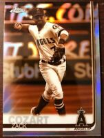 Zack Cozart 2019 Topps Chrome Sepia Refractor Insert #43 Los Angeles Angels Reds
