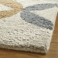 Barli Granada Rug 5x8 Contemporary Style Handmade Loop Tufted Wool Rug & Carpet