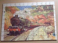 Vintage Wooden Railway Jigsaw Puzzle - Complete, 108 Pieces - Devon GWR