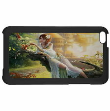 Fairy Sitting On A Tree Trunk Case Cover For Apple ipod Touch New