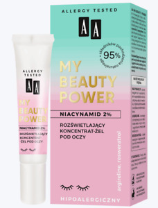 AA My Beauty Power 95% Natural Illuminating Eye Gel Concentrate Niacinamide