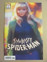 Symbiote Spider-Man #1 Marvel Comics 2019 Series Artgerm Variant 9.6 Near Mint+