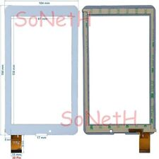 "Vetro Touch screen Digitizer 7,0"" INNO-HIT GOLEM 772 IH-772 3G Tablet Pc Bianco"
